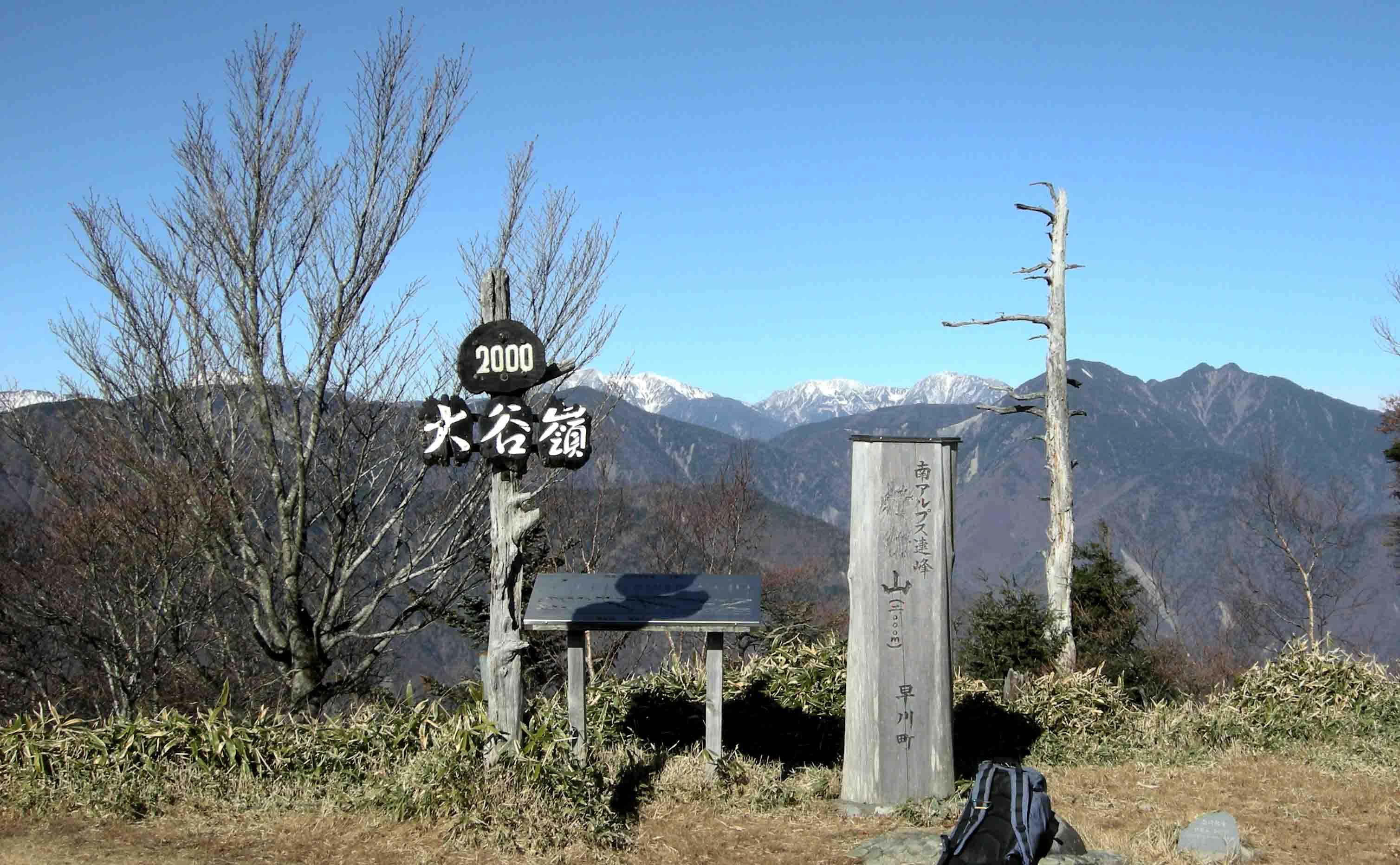 DSCN1336 大谷嶺山頂