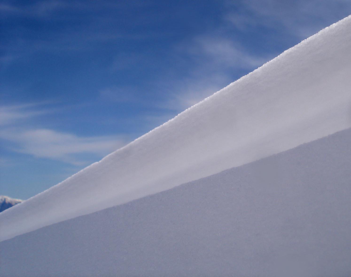 二重雪庇アップ DSC05522