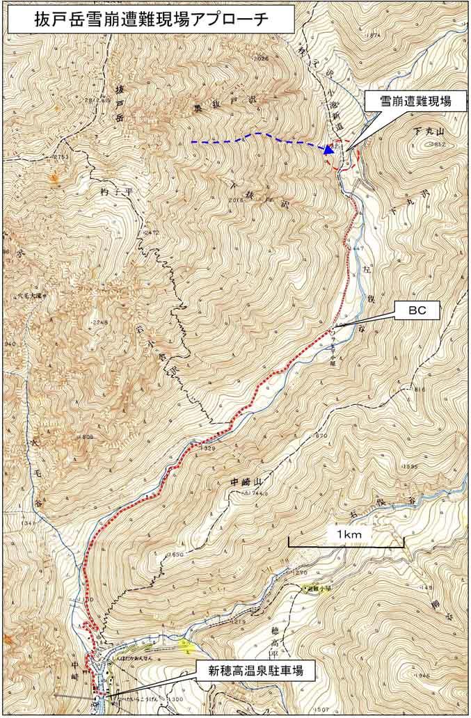 アプローチ地図