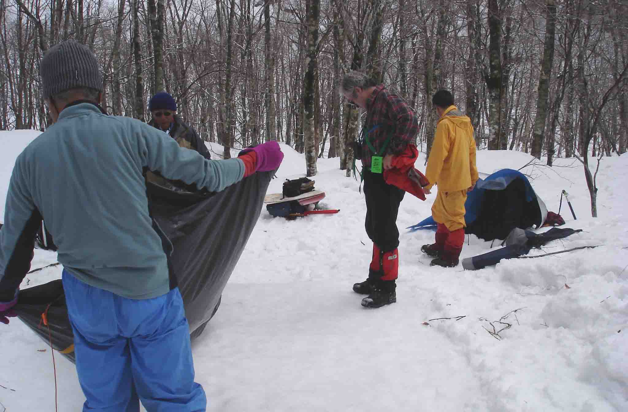 DSC09069 ベースキャンプ撤収