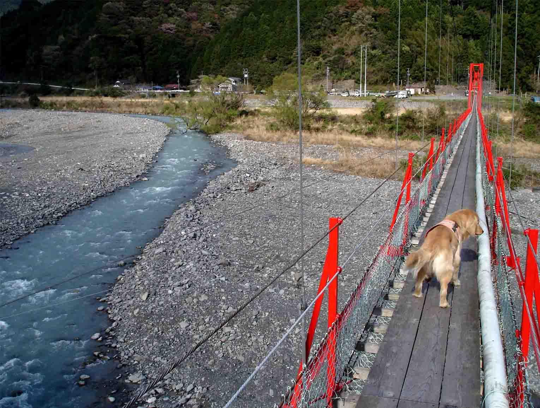 相淵の吊橋⑦