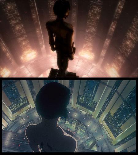 高層ビルからの映像を比較してみると