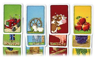 カントリーライフ:農家にちなんだカード