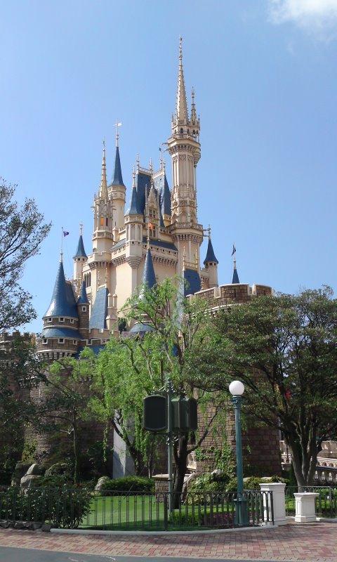 ディズニーの城