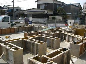 コンクリート打設2