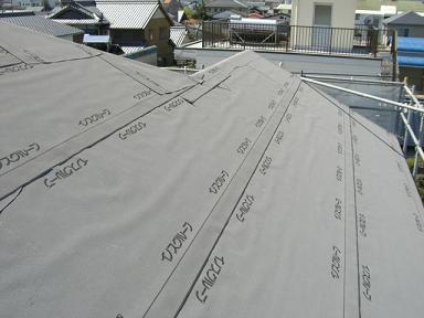 1号区屋根