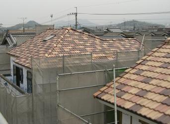 1号区・4号区の屋根
