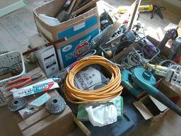 大工さんの仕事道具あれこれ