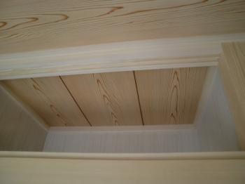 天井貼り:天袋②