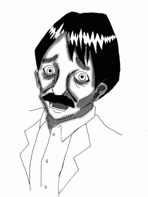 稲川淳二の顔