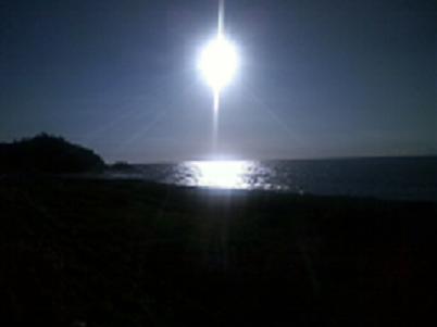 五十猛の太陽