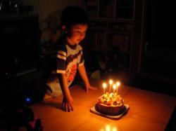 4歳のお誕生日③