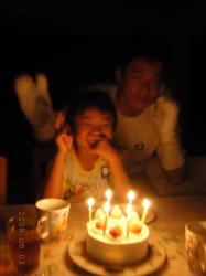 6歳のお誕生日①