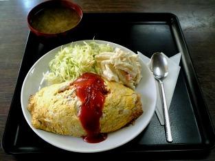 山田ホームレストラン オムライス002
