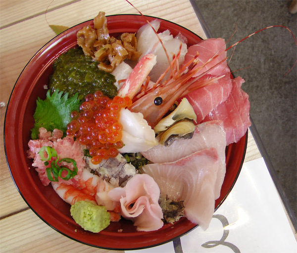 女川 おかせい 海鮮丼