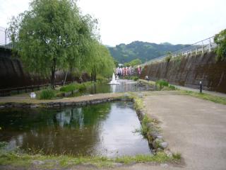 トンネル湧水公園