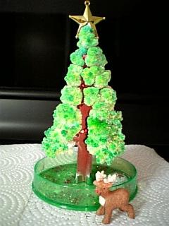 クリスマスツリーとトナカイさん