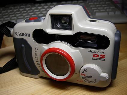 Canon AutoboyD5