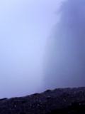 しかも霧で何が何やら