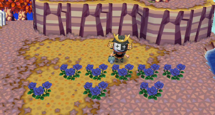 の 森 青い バラ どうぶつ
