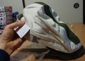 バンダイ製の虎徹ハンチング帽(公式商品)
