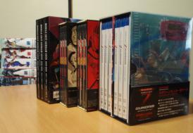 ガンダムシリーズDVD-BOX群