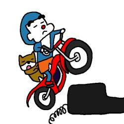 バイク-イラスト