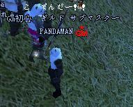 PANDAMANさん、こんぱんだ!