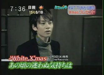 [TV] 20081126 zoom in - KAT-TUN White XMas PV Preview (48s)(672x480)[(000444)01-02-23]