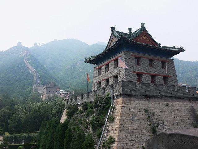 128_万里長城(居庸関)