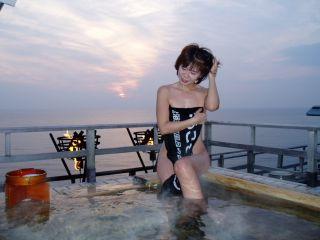 温泉女性お風呂