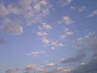 今日はいい天気でした☆