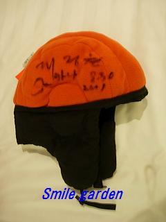 帽子サイン2
