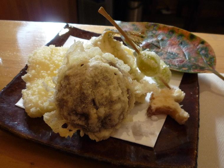 10.蕎麦切 森の (天麩羅)