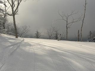 スキー場上部