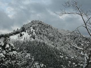 小入林道から百里ケ岳方面