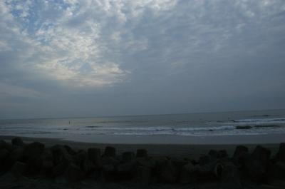 朝の海-2