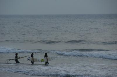 朝の海-3