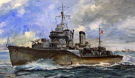 吹雪型駆逐艦 敷波
