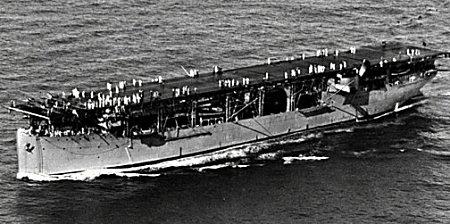 米国海軍初の空母ラングレー