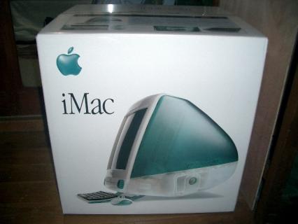 iMac ボンダイブルー
