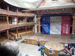 グローブ座の舞台