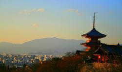 清水寺の美しいショット