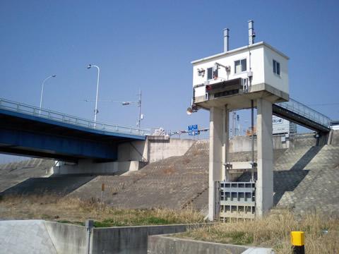 四国三郎橋(8km付近)