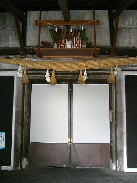 酒蔵の入り口