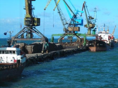 コルサコフ港