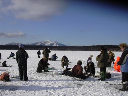 冬の釣り1