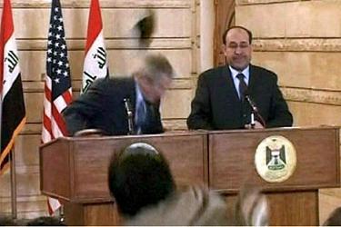irakian lancait ses soulier