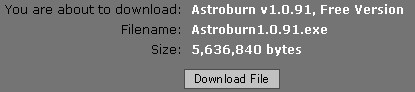 Astroburnサムネイル