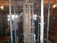 3階壁R階床スラブコンクリート打設 ④